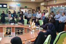 خبرنگاران از نیروگاه شهید رجایی قزوین دیدن کردند