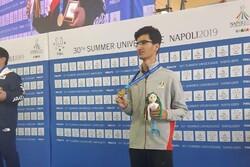 اولین مدال کاروان ایران بدست آمد/ تیرانداز ایران برنزی شد