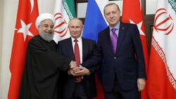Turkey, Russia, Iran