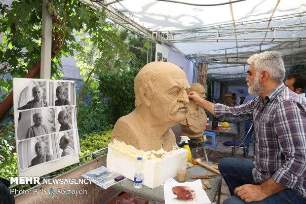 2nd Iranian Elites Sculpture Symposium at Einoldoleh Mansion