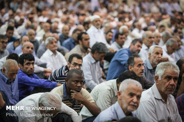 Friday prayers in Tehran