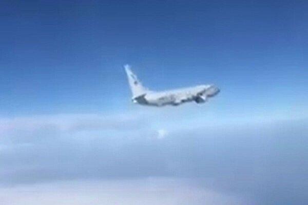VIDEO: Russian Su-27 jet intercepts US surveillance plane over Black Sea