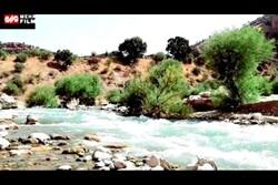 خروش رودخانه خرسان سمفونی آب را به نمایش می گذارد