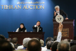 Air of caution at 11th Tehran Auction, total proceeds still set record high