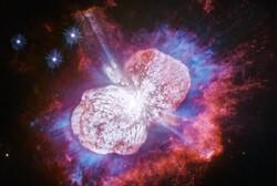 ثبت تصاویر آتش بازی فضایی توسط تلسکوپ هابل