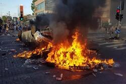اسرائیل میں پر تشدد مظاہرے جاری/ ایتھوپیا کے یہودیوں کا فلسطین کو آزاد کرانے کا مطالبہ