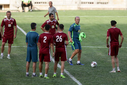 Persepolis training session under Calderon