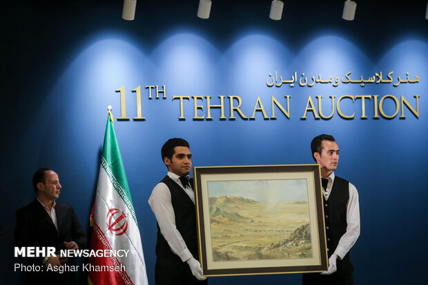 11th Tehran Auction for classic, modern Iranian art