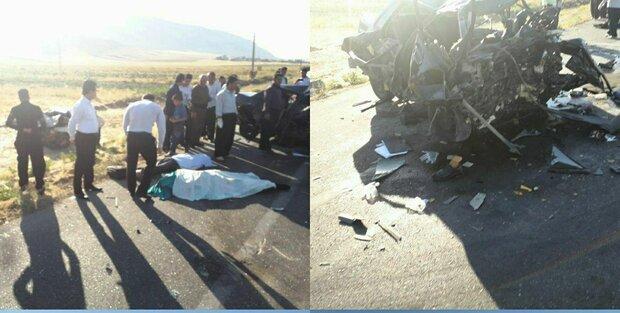 تصادف درمحور روانسر به کرمانشاه ۶ کشته و زخمی بر جا گذاشت