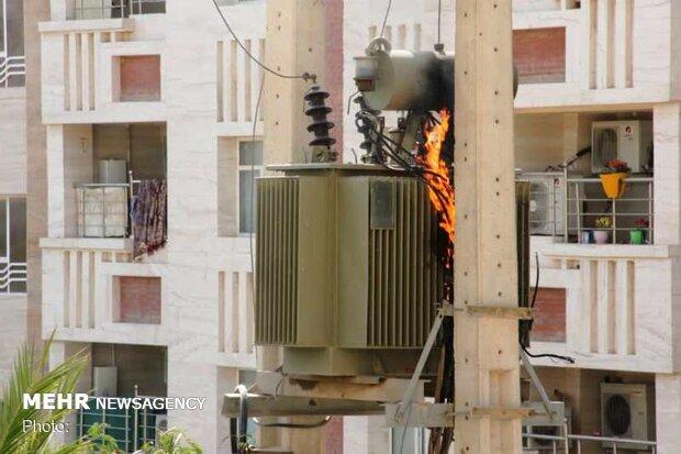 برق خوزستان در وضعیت قرمز / رکوردها همچنان جابه جا می شود