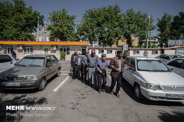 بازدید جمعی از مدیران خبرگزاری مهر از کارخانه فیروز