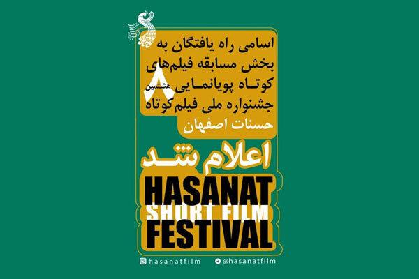 معرفی آثار پونمایی بخش مسابقه جشنواره «حسنات»