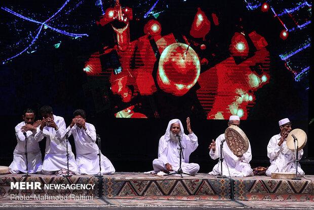 Closing ceremony of Razavi music festival