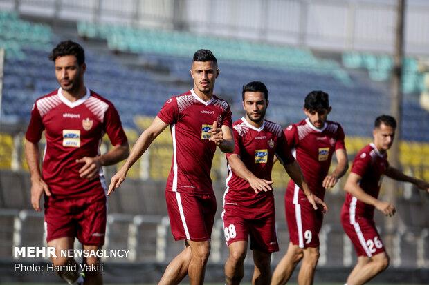 Persepolis training session under Calderon