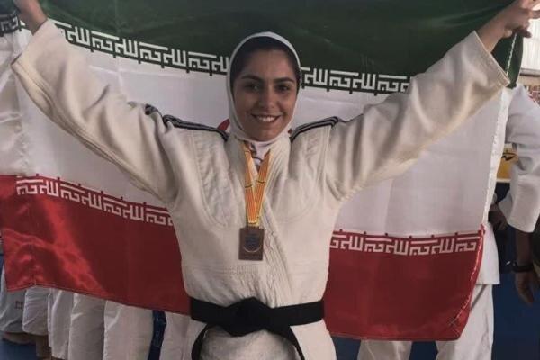 بانوی یزدی در مسابقات جهانی جودو افتخار آفرید