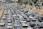 افزایش ۱۴.۳ درصدی ترددهای جادهای/ ترافیک سنگین محورهای غرب تهران