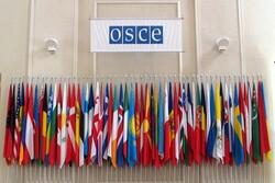 سازمان امنیت و همکاری اروپا قطعنامه ضدروسی تصویب کرد