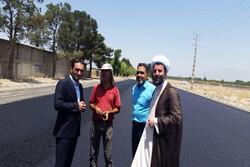 خروج از بن بست شهرک مصطفی خمینی صباشهر با تکمیل فاز اول رینگ شهری