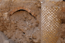 Historic structure found in Tabriz while carrying out civil project