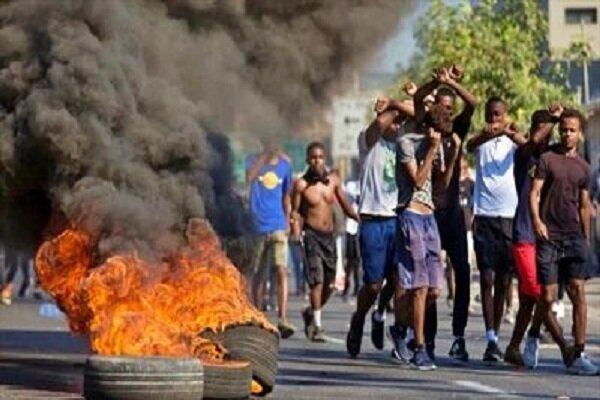 صہیونی حکومت کے تبعیض آمیز اورنسل پرستانہ اقدامات کے خلاف افریقی یہودیوں کا احتجاج