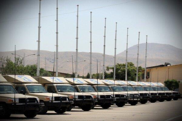 """İran yapımı """"Sepehr-110"""" taktiksel iletişim sistemi tanıtıldı"""