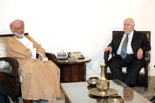 بن علوی کی دمشق میں ولید المعلم سے ملاقات