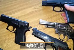لحظه حمله فرد مسلح با سلاح گرم به جوان ۲۵ ساله در ایلام