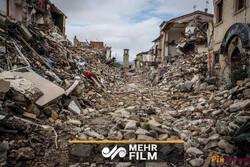 İran'daki depremden ilk görüntüler