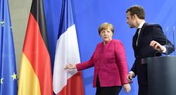Merkel - Macron