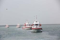 """انضمام عوامات فئة """"حيدر"""" الى أسطول حفر السواحل الايراني / صور"""