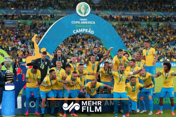 Brezilya Güney Amerika'da şampiyon oldu