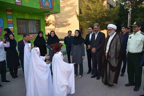 تولیت آستان قدس رضوی از شیرخوارگاه علی اصغر(ع) بهزیستی بازدید کرد