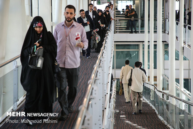 First group of Iranian Hajj pilgrims depart for Saudi Arabia