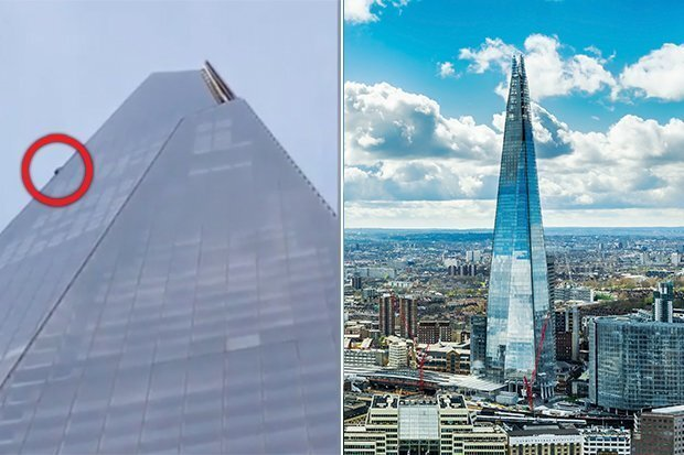 VIDEO: Man seen scaling outside of tall skyscraper in London