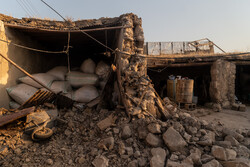 """خسائر الزلزال الذي ضرب قرية """"جلجير"""" في منطقة مسجد سليمان/ صور"""