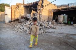 İran'daki deprem bölgesinden fotoğraflar
