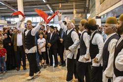 İran'ın El Sanatları Fuarı'ndan kareler