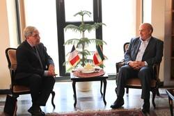 دیدار سفیر فرانسه در ایران با رئیس سازمان محیط زیست