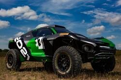 تولید خودروی برقی قدرتمند برای مسابقه در بیراههها