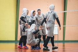 İran Milli Kadın Voleybol Takımı antremanları