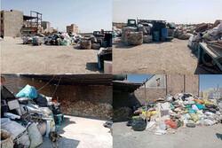 شناسایی یک واحد آلاینده جمع آوری و تفکیک ضایعات در نسیم شهر