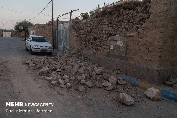 منازل خسارت دیده مسجدسلیمان همچنان در حال ارزیابی است