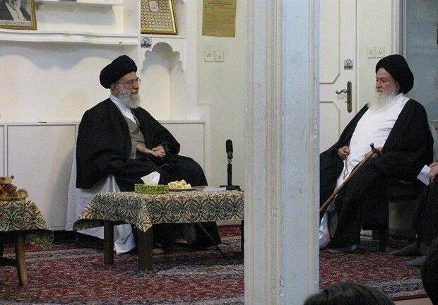 رهبر انقلاب درگذشت آیتالله سیدمحمد حسینی شاهرودی را تسلیت گفتند