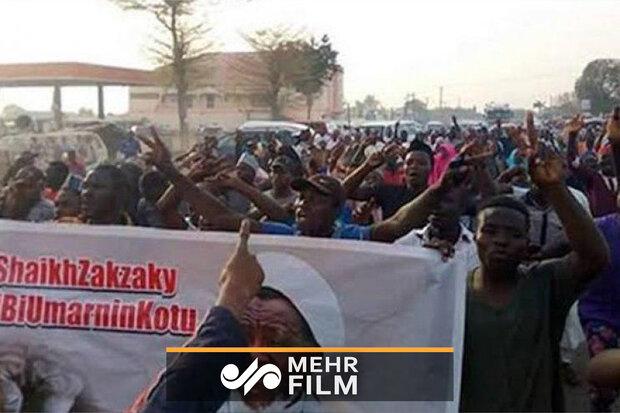 پولیس کی شیخ زکزاکی کے حامیوں کی طرف فائرنگ