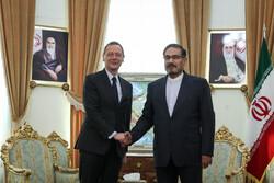 صدر میکرون کے مشیر کی ایران کی اعلی قومی سلامتی کے سکریٹری سے ملاقات