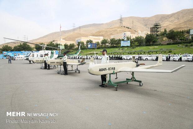 استفاده از پهپادهای ایرانی برای عملیات پلیسهای تخصصی