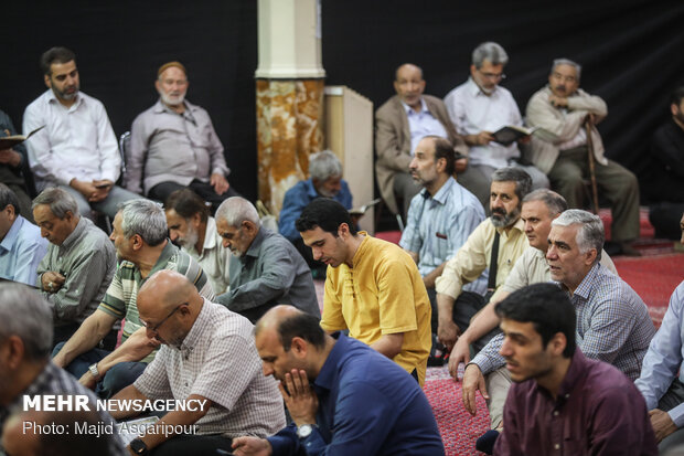 مراسم اولین سالگرد درگذشت آیتالله مرتضی تهرانی
