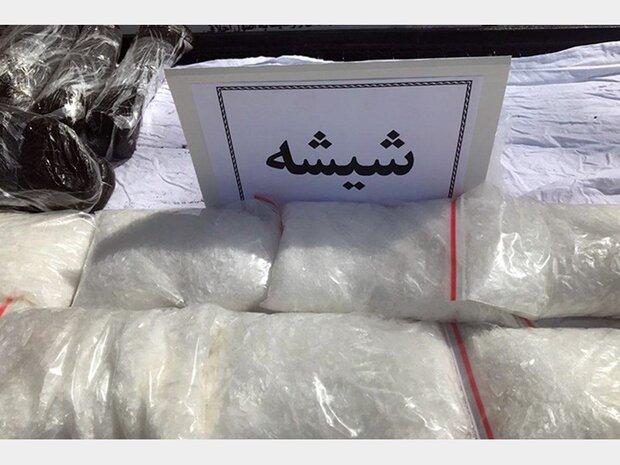 کشف ۱۱ کیلوگرم مواد مخدر شیشه در بهارستان/۳ نفر دستگیر شد