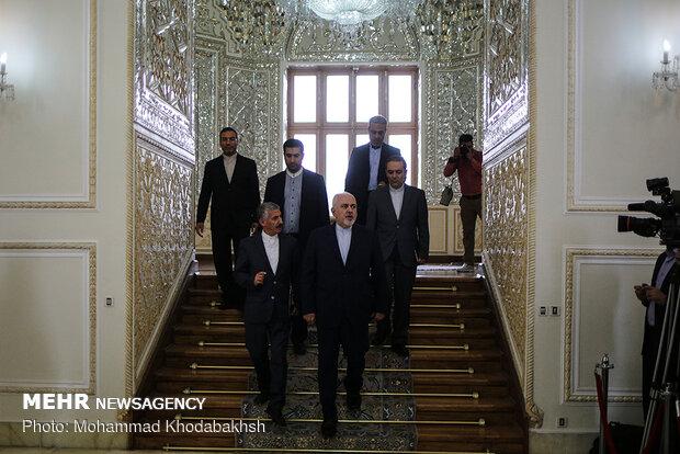 FM Zarif, Belarusian diplomat meeting in Tehran