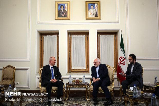 Belarusian deputy FM meets Zarif
